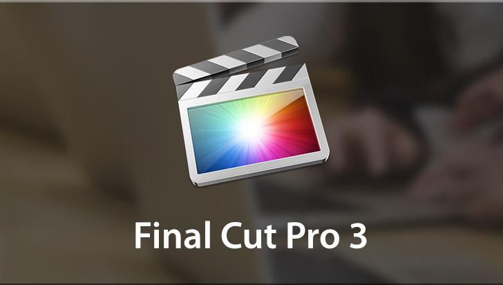 Final Cut Pro 3
