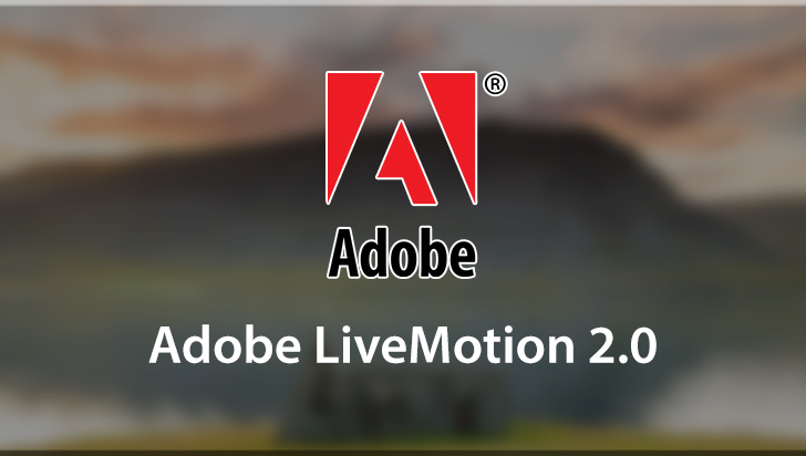 Adobe LiveMotion 2.0