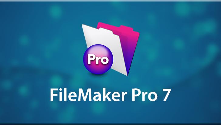 FileMaker Pro 7