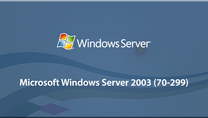 Microsoft Windows Server 2003 (70-299)