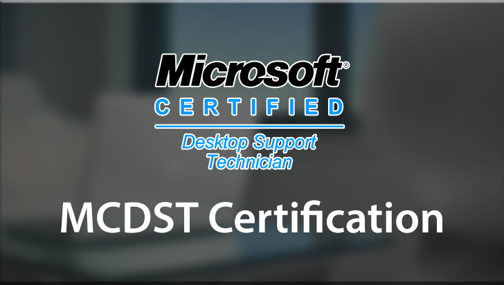 MCDST Certification