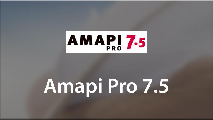 Amapi Pro 7.5