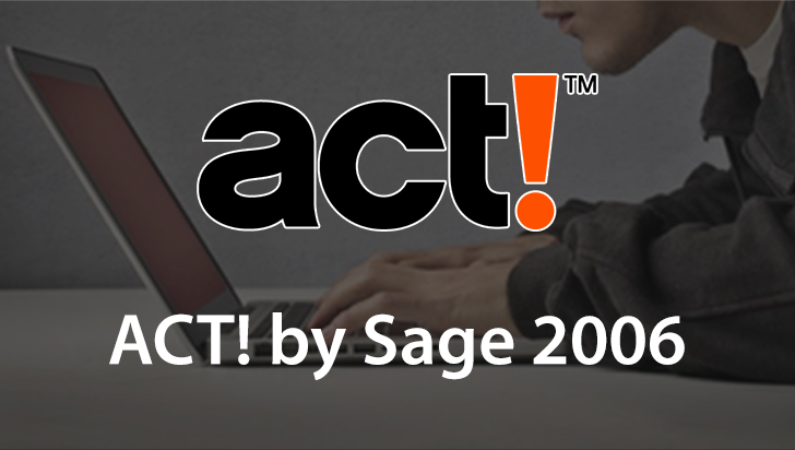 ACT! by Sage 2006