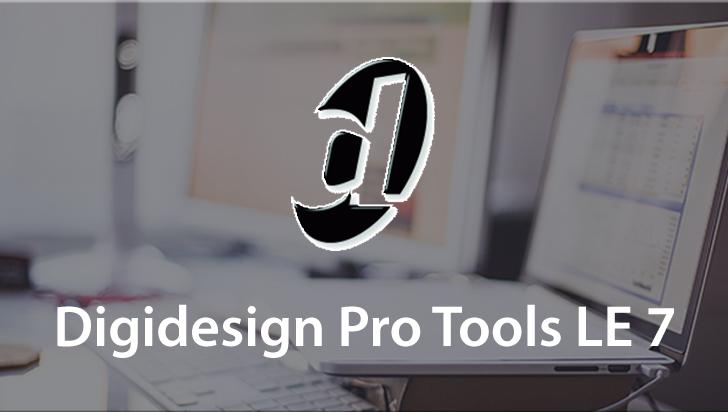Digidesign Pro Tools LE 7