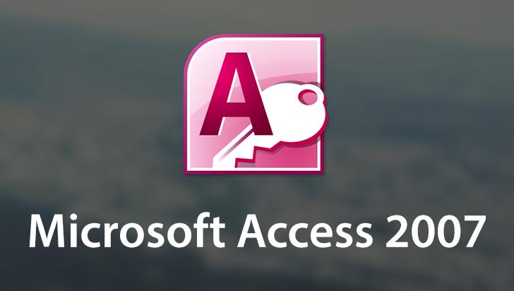 Microsoft Access 2007