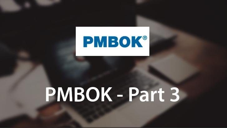 PMBOK - Part 3