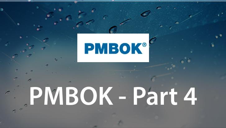 PMBOK - Part 4