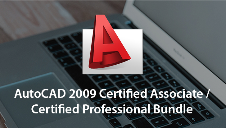 AutoCAD 2009 Certified Associate / Certified Professional Bundle