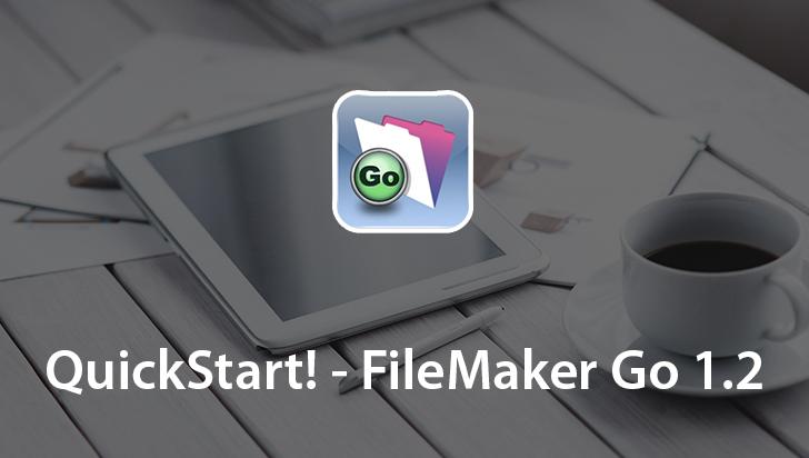 QuickStart! - FileMaker Go 1.2