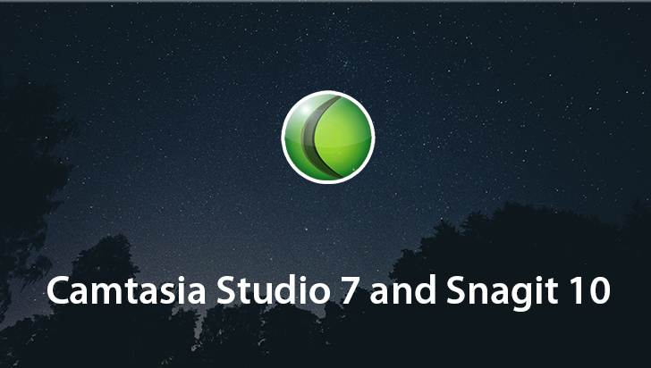 Camtasia Studio 7 and Snagit 10