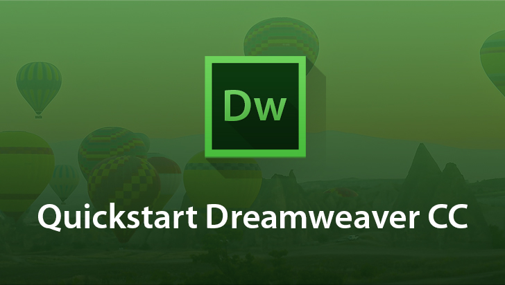 QuickStart! - Adobe Dreamweaver CC
