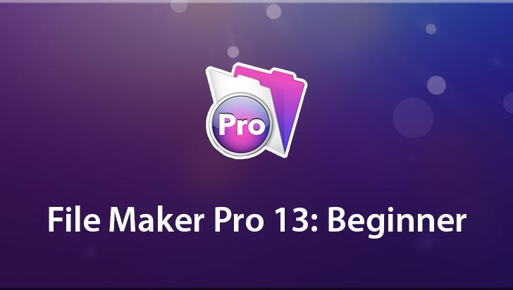 FileMaker Pro 13: Beginner