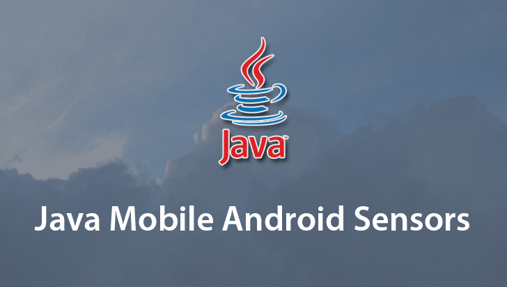 Java Mobile Android Sensors