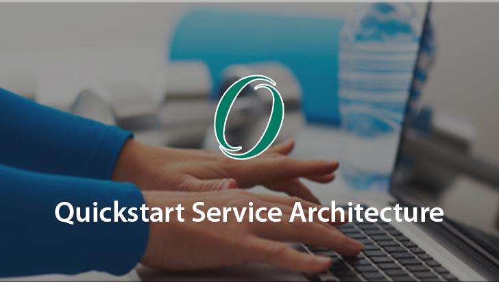 Quickstart Service Architecture