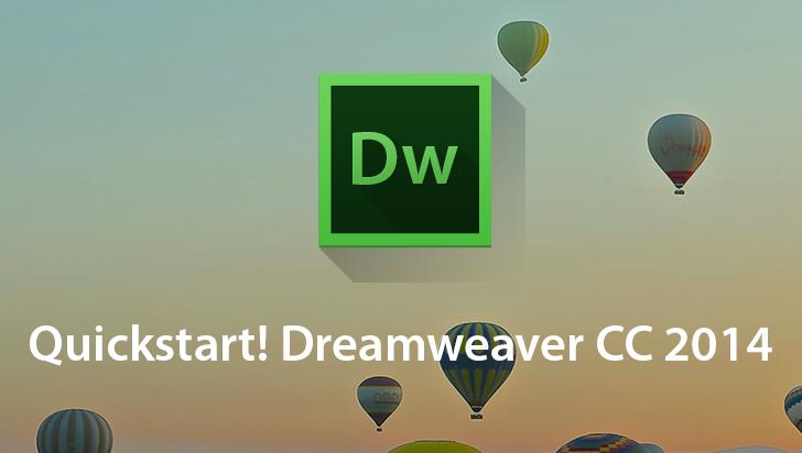 QuickStart! Dreamweaver CC 2014