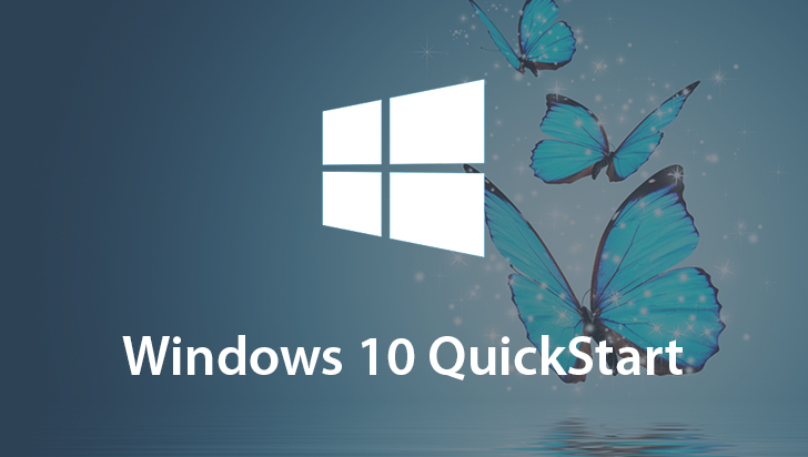 Windows 10 QuickStart