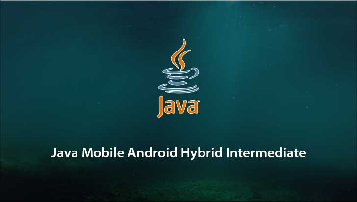 Java Mobile Android Hybrid Intermediate