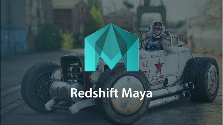 Red Shift Maya