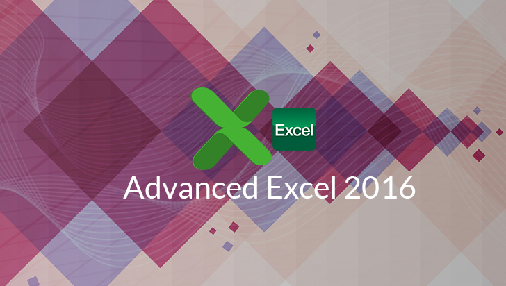 Advanced Excel 2016