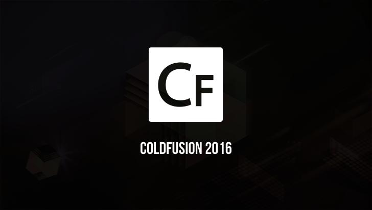 ColdFusion 2016