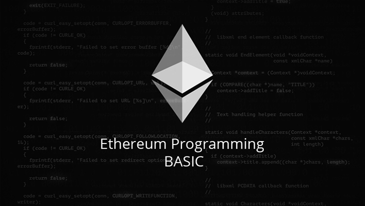 Ethereum Programming Basic