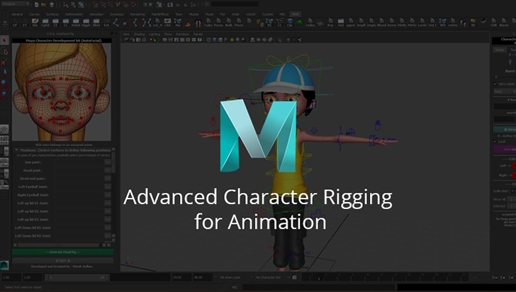 Advanced Character Rigging for Animation