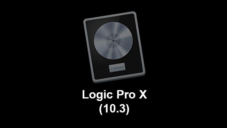 Logic Pro 10.3