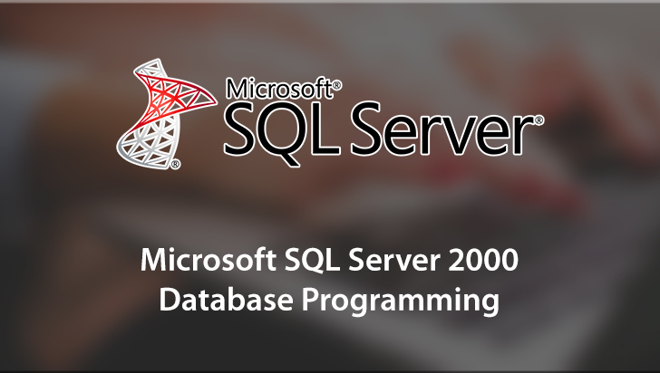 Microsoft SQL Server 2000 Database Programming