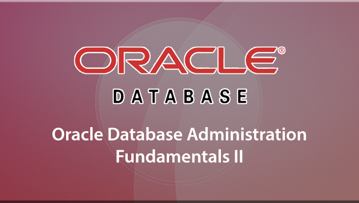 Oracle Database Administration Fundamentals II