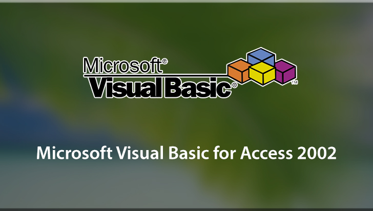 Microsoft Visual Basic for Access 2002