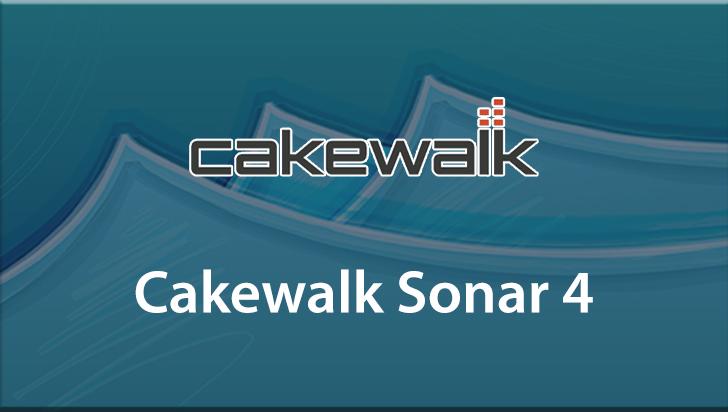 Cakewalk Sonar 4