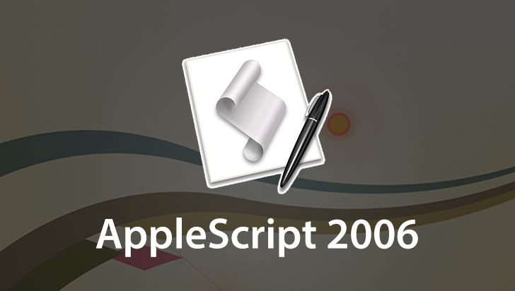 AppleScript 2006