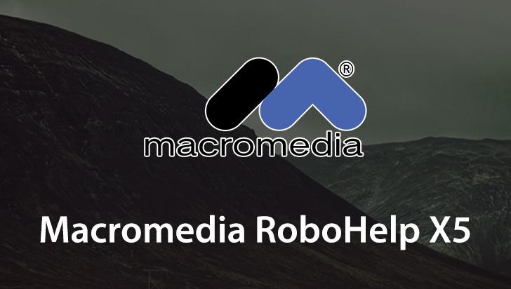 Macromedia RoboHelp X5