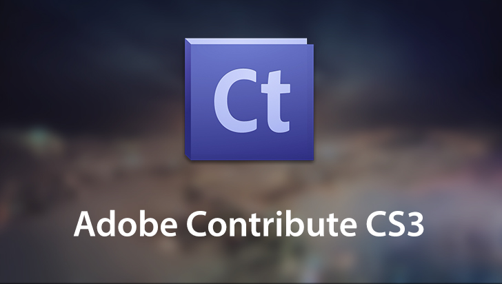 Adobe Contribute CS3