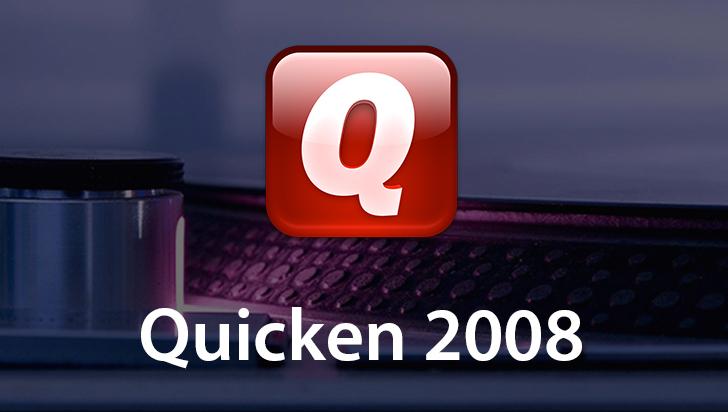 Quicken 2008