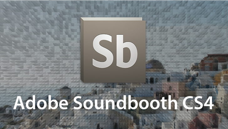 Adobe Soundbooth CS4