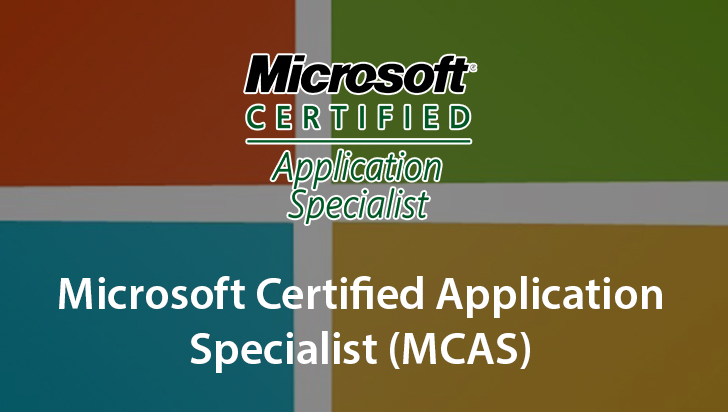 Microsoft Certified Application Specialist (MCAS)