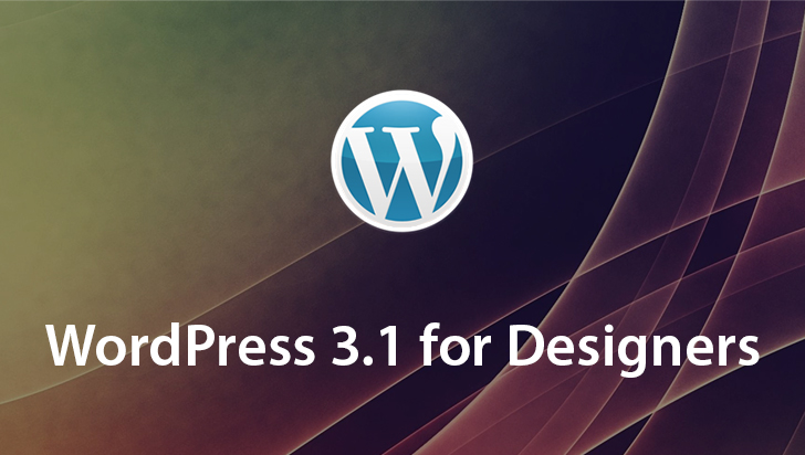WordPress 3.1 for Designers