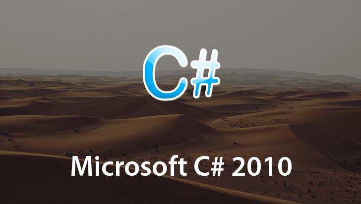 Microsoft C# 2010