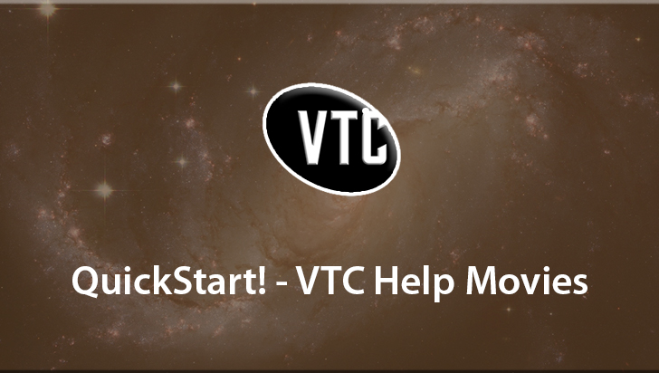 QuickStart! - VTC Help Movies