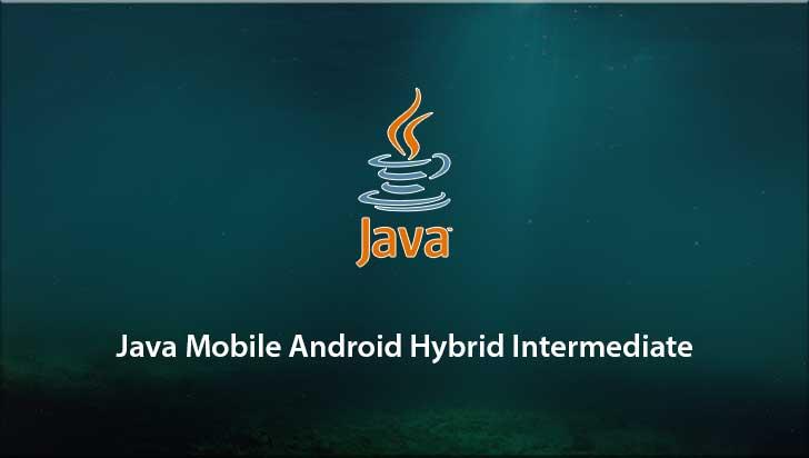 Java Mobile Android Hybrid Intermediate