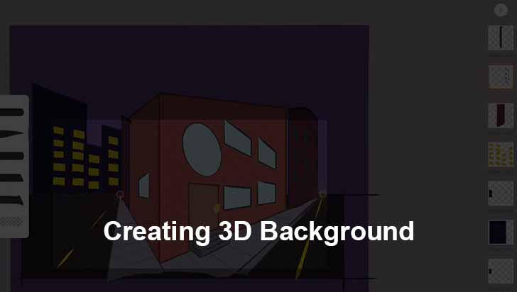 Creating 3D Background
